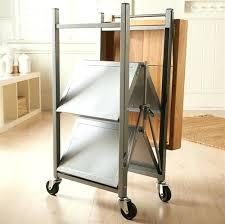 folding island kitchen cart folding island kitchen cart spirations ith origami folding kitchen