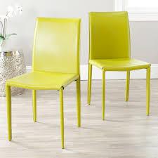Seafoam Green Chair by Safavieh Bacall Seafoam Green Cotton Blend Dining Chair Mcr4501j