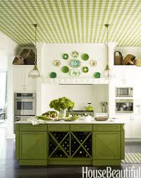 green kitchens ideas for kitchen design with gingham ceiling haammss