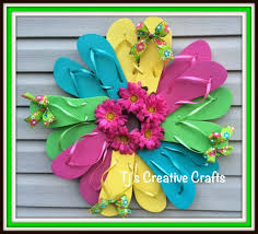Flip Flop Wall Decor 40 Home Decor Diy Projects For Summer Page 8 Of 13 Diy Joy