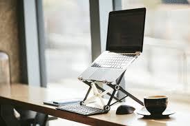 Adjustable Laptop Stand For Desk by Roost Adjustable Laptop Stand Gadget Flow
