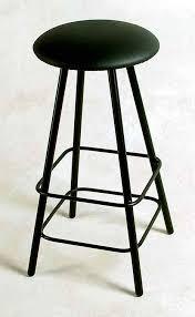 Backless Swivel Bar Stool Moderno Backless Swivel Bar Stool Wrought Iron