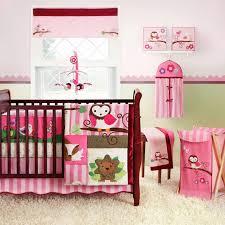 Crib Bedding Owls Pink Owl Crib Bedding Baby Owl Crib Bedding Sets 4