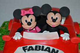 mickey and minnie mouse car celebration cakes cakeology