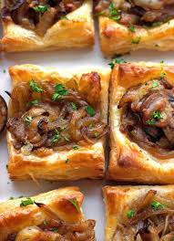 puff pastry canape ideas gruyere caramelized bites recipe spice jar