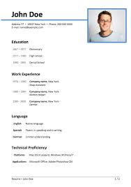 Sample Of Resume Format by Creative Designs Resume Form 10 Resume Form Resume Example