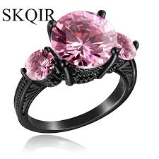 Pink Wedding Rings by Online Get Cheap Light Pink Engagement Ring Aliexpress Com