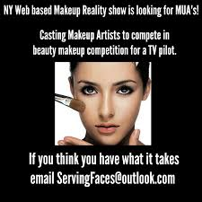 Seeking Tv Show Free Makeup Artists For Reality Pilot Serving Faces In Nyc
