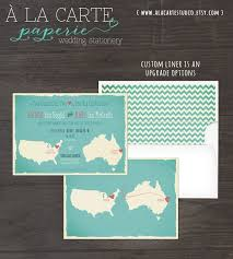 wedding cards usa map style wedding invitation australia usa two countries two