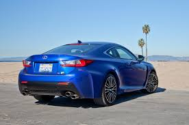 blue lexus 2015 2015 lexus rcf passenger rear three quarters photo 88924171
