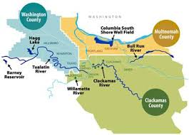 map of oregon with counties our region s water regional water providers consortium