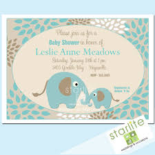 elephant themed baby shower invitations u2013 frenchkitten net