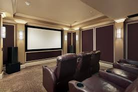 Home Theater Designs For Small Rooms LandShark S Small Yet Cozy - Home media room designs
