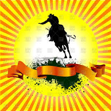 free halloween vector background halloween card with jack o u0027lantern death in cape on horse vector