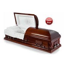 wood caskets wellington solid walnut wood casket sky caskets