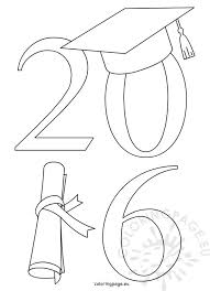 class of 2016 graduation class of 2016 graduation coloring page
