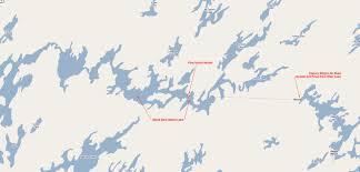 Churchill Canada Map by Map Black Bear Island Lake Churchill River