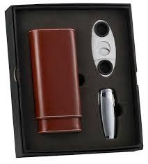 cigar gift set buy visol naturale triad cigar cutter gift set