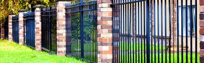 Decorative Wood Post Apartments Beautiful Metal Fence Corrugated Designs Black Steel