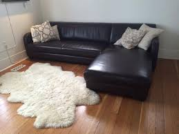 low profile leather sectional sofa for humble home owner new