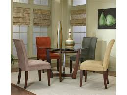 cramco inc contemporary design parkwood round dining table and