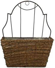 metal garden hangings u0026wall mounted baskets boxes ebay
