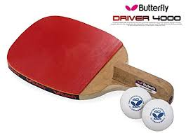 butterfly table tennis racket amazon com butterfly driver 4000 table tennis racket penholder