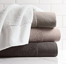 Restoration Hardware Bath Rugs Restoration Hardware Linen Bordered 650 Gram Turkish Bath Towels