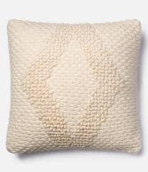 Dillards Home Decor by Magnolia Home By Joanna Gaines Fae Cotton U0026 Wool Square Feather