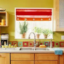 Kitchen Design Colors Colorful Kitchen Backsplash Fireplace Basement Ideas