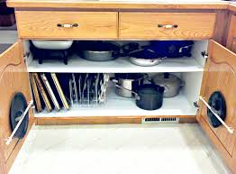 Organizing Pots And Pans In Kitchen Cabinets Organize Pots And Pans In Cabinet My Web Value
