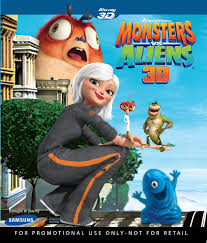 monsters aliens blu ray 3d cover complete blu ray 3d