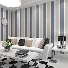 Striped Living Room Chair Vertical Striped Walls Ideas On On Living Room Blue Chairs Photo