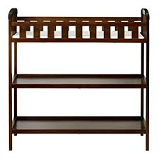 Expresso Changing Table On Me Emily Changing Table Espresso Baby