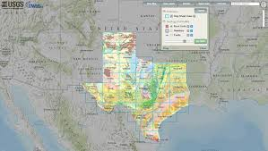 Geological Map Of Usa by Interactive Geologic Map Of Texas Now Available Online