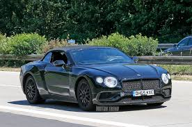 bentley 2018 spied 2018 bentley continental gtc tests on public roads motor