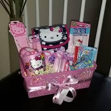 hello easter basket hello pre filled easter basket gift sanrio hellokitty