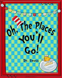 oh the places you ll go graduation gift thursday s thought oh the places you ll go pink polka dot