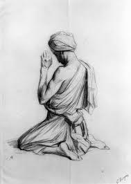 kneeling in prayer 3d model made with 123d 123d sculpt clip art