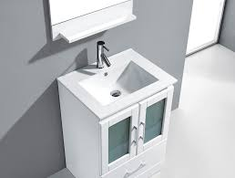 White Bathroom Vanity Cabinets by Abodo 63 Inch Wall Mounted Single White Bathroom Vanity Cabinet