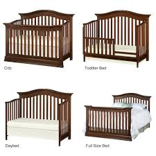 Baby Cribs Convert Full Size Bed by Baby Cache Montana 4 In 1 Convertible Crib Brown Sugar Toys