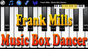 box frank mills frank mills box dancer how to play piano melody