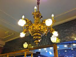 New Chandeliers by The Gilded Gas Chandeliers Of A Village Pharmacy Ephemeral New York