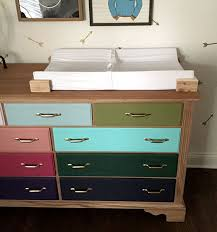 Dresser As Changing Table The Happy Homebodies November 2015