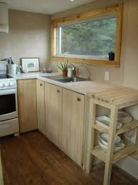 Tiny House Kitchens by A Peek Inside A Chemical Free Tiny House