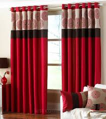Red Blackout Blind Bedroom Contemporary White Curtains Best Blinds For Bedroom