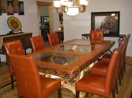 Redwood Dining Table Rustic Table Solid Redwood Live Edge Natural Wood Furniture