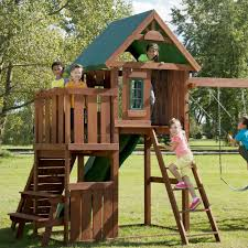 Heartland Swing Set Playset Lowes Playset Girls Outdoor Playhouse Home Depot Playsets