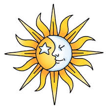 half sun half moon drawing at getdrawings com free for personal