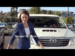 toyota commercial actress australia ford girl in blue ford ranger you can t buy better youtube